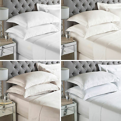 Paoletti 100% Egyptian Cotton 400 Thread Count Bedding Fitted Bed Sheet