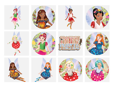 144 x Childrens Kids Girls FAIRY FAIRIES Temporary Tattoos Transfers N51 034