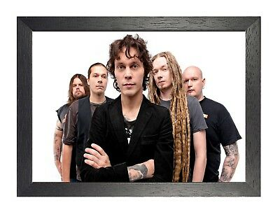 HIM 2 Photo Rock Band Print Heavy Metal Legends Picture Vintage Music Poster
