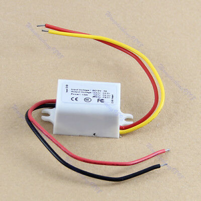 HOT Waterproof DC Converter 12V Step Down to 6V 3A 15W Power Supply Module