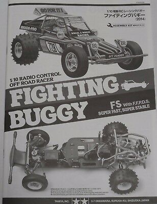 New Tamiya Fighting Buggy Instructions / Build Manual 84389 11055268
