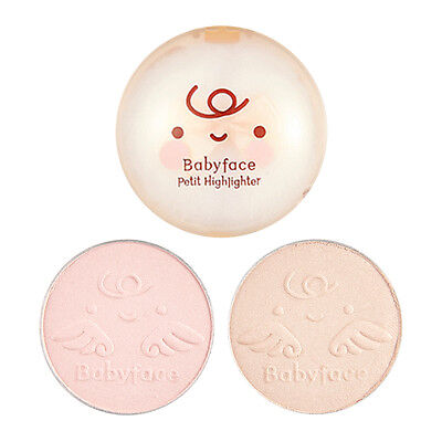 [IT'S SKIN] Babyface Petit Highlighter 4g 2 Color / Glowing pearl