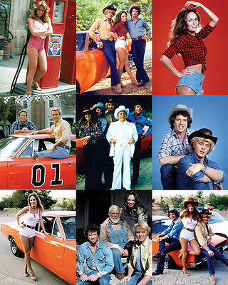 The Dukes of Hazzard 24x30 Poster Collage 9 great Duke scenes on one poster