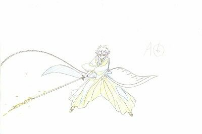 Anime Genga not Cel Production Art Bleach #385