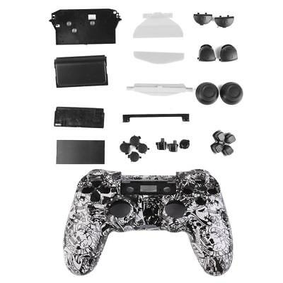 Skull Controller Shell Housing Case Buttons Parts for PlayStation4 Sony PS4