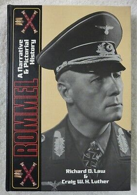 ROMMEL - First Edition BENDER PUBLISHING WW2 GERMAN AFRICA CORPS HISTORY BOOK