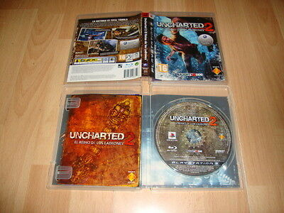 Uncharted 2 El Reino Ladrones Para La Sony Ps3 Version Original Usado Completo