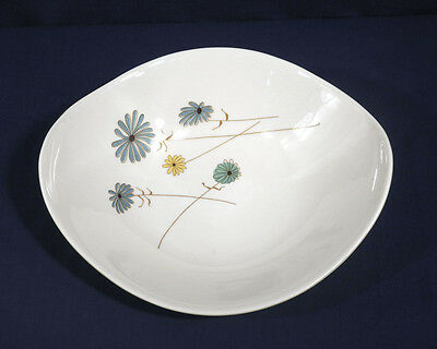 """Vtg Iroquois Informal China LAZY DAISY by Ben Seibel Oval Vegetable Bowl 10-3/8"""""""