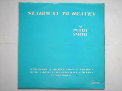 Peter Smith Stairway To Heaven LP Sacred SAC5019 EX/EX 1970 Stairway To Heaven