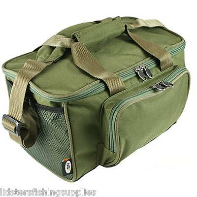 New Green Small Carp Coarse Fishing Tackle Stalker Bag Holdall Trout NGT 537
