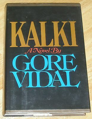 KALKI SIGNED BY GORE VIDAL 1978 1ST/1ST HARDCOVER DJ with plastic cover