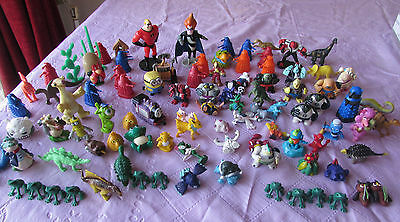 95 X Mini Fig Cake Toppers Pokemon Dr Who Ben 10 Wall-E Monsters Inc Thomas