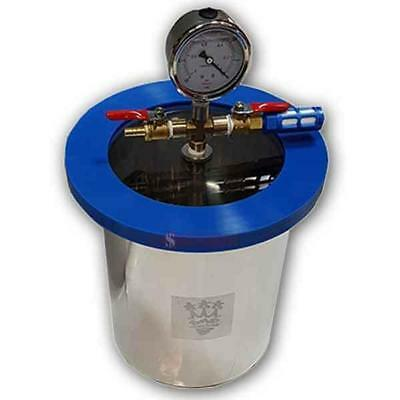 SMO-KING Vacuum Degassing Chamber 1 Gallon - 4.5 Litre