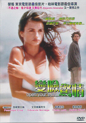 Open your eyes DVD Penelope Cruz Eduardo Noriega Chete Lera NEW Eng Sub