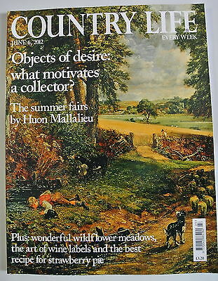 Country Life Magazine. June 6, 2012. Objects of desire: what motivates a collect