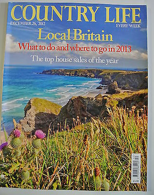 Country Life Magazine. December 23, 2012. Local Britain. What to do where to go.