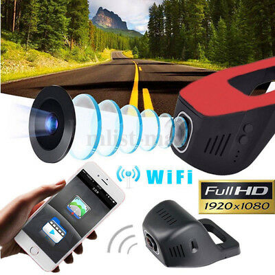 "4.3"" HD 1080P In-Car Rear View Mirror Dash DVR Recorder Dual Lens Camera Monitor"