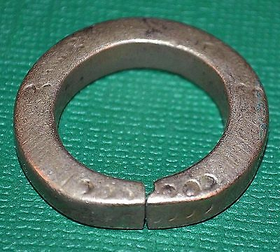 Antique African Tuareg Ethnic Metal Tribal Ring Niger Africa - Ring Size 10 1/2