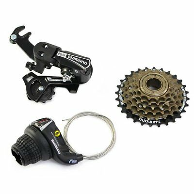 Shimano 6 Speed Groupset Group Set 3 piece