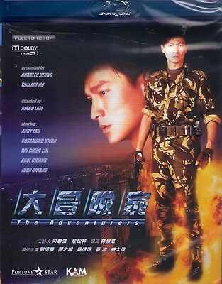 The Adventures Blu Ray Andy Lau Rosamund Kwan NEW English Sub Region A