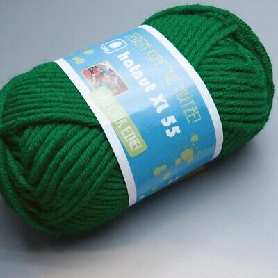 6.50 EUR pro 100 g hatnut XL 55-21 etherial green 50g Wolle