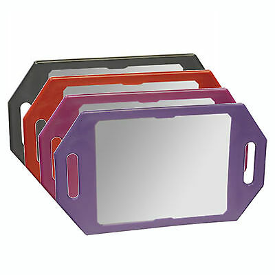 Kodo Two Handed Back Mirror VARIOUS COLOURS for Hairdressing