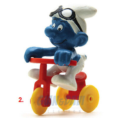 PUFFO PUFFI SMURF SMURFS SCHTROUMPF 4.0203 40203 Tricycle Triciclo 2B