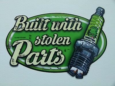 Stolen Parts Vintage Oldschool Aufkleber Sticker / Stickerbomb US Cars Retro OEM