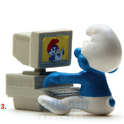 PUFFO PUFFI SMURF SMURFS SCHTROUMPF 4.0249 40249 Computer PC 3A