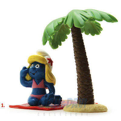 PUFFO PUFFI SMURF SMURFS SCHTROUMPF 4.0262 40262 Smurfette On Vacation 1A