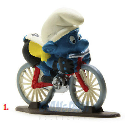 PUFFO PUFFI SMURF SMURFS SCHTROUMPF 4.0501 40501 Cyclist Ciclista 1A