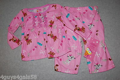 db99c7ed100f GYMBOREE BABY GIRLS 12-18 Month Holiday Flannel Pajama Sleepwear Set ...