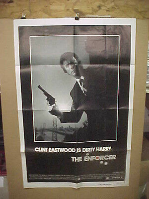 THE ENFORCER, orig 1-sht / movie poster (Clint Eastwood, Tyne Daly)