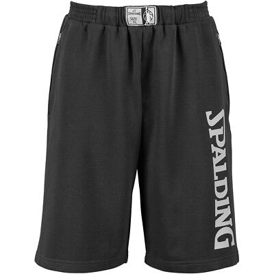 Spalding Team Shorts Basketballhose Hose Basketball Herren schwarz
