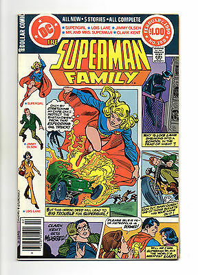 Superman Family Vol 1 No 199 Feb 1980 (VFN+)68 Page Dollar Comic,All New Stories