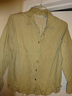 0c2dba3bbc6e8 LEMON GRASS Womans Plus Size 18W Olive Green Long Sleeve Button Front Blouse