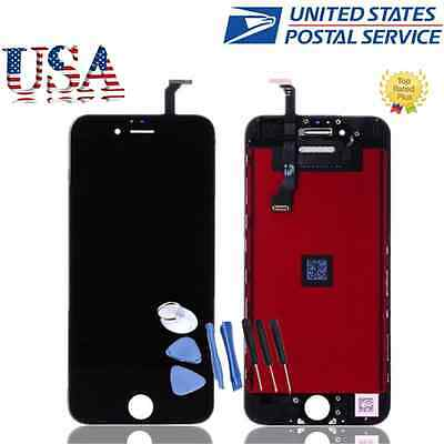 "Black OEM New For 4.7"" iPhone 6 LCD Touch Screen Replacement Assembly Digitizer"
