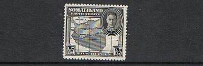 STAMPS  BRITISH  SOMALILAND 1942 5 Rs  KG VI ( MLH)  lot A 29
