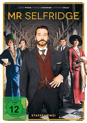 Mr. Selfridge Die Komplette Dvd Staffel / Season 2 Deutsch