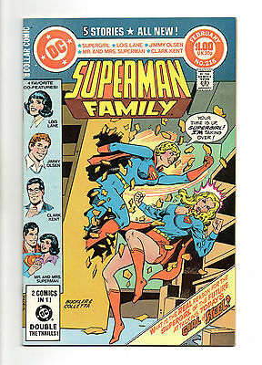 Superman Family Vol 1 No 215 Feb 1982 (VFN+)52 Page Dollar Comic,All New Stories