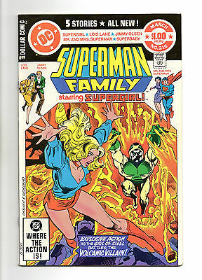 Superman Family Vol 1 No 216 Mar 1982 (VFN+)52 Page Dollar Comic,All New Stories