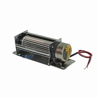 "Universal Cross-Flow 5"" 12V Turbo Cooling Fan For Amplifiers /Amp TF5"
