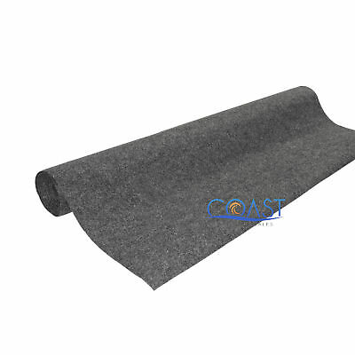 "Ensemble Backed Carpet 48""x 150 Ft. for Car Truck Woofer Enclosures - Charcoal"