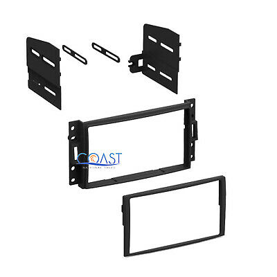 Double Din Car Stereo Dash Kit for 2005-2010 Chevrolet Pontiac Saturn Hummer