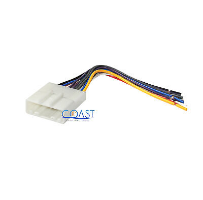 Car Stereo Radio Wiring Harness Plug For Select 2007 Up