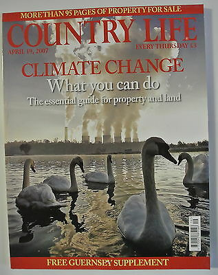 Country Life Magazine. April 19, 2007. Climate Change. What can you do.
