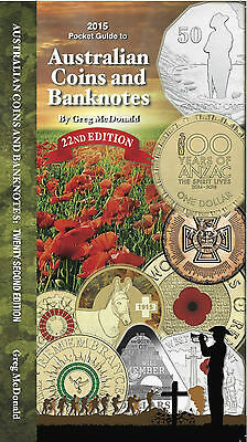 New AUSTRALIAN COINS & BANKNOTES 2015 PRICE BOOK 22nd Edition by GREG McDONALD