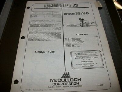 mcculloch chainsaw service manual titan 620