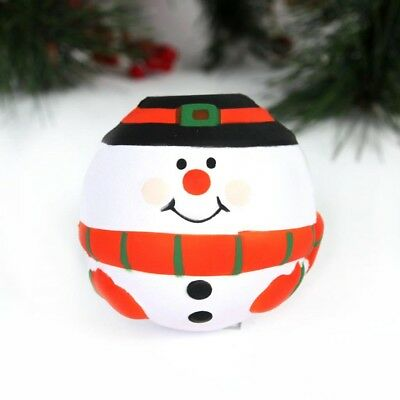 Christmas Snowman Soft Anti Stress Reliever Ball Autism Mood Squeeze Relief