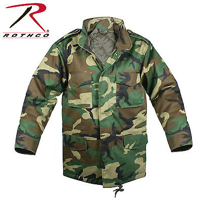 Rothco 7660 Kid's M-65 Field Jacket - Woodland Camo